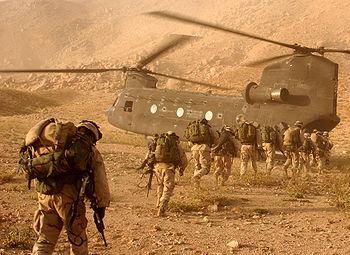 la guerre afghanistan